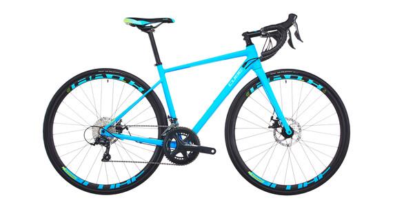Cube Axial WLS Pro Disc - Vélo de route Femme - turquoise